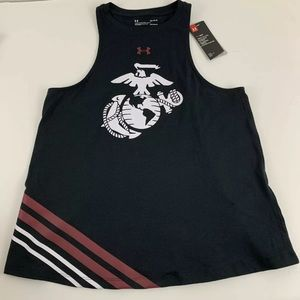 Under Armour NWT Marine Corps Muscle Tank Top USMC